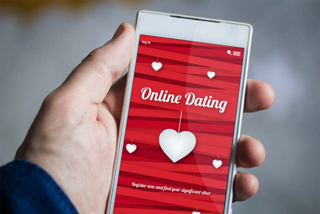 Online Dating mit Handy App wie Tinder