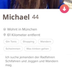Männer bei Tinder anschreiben